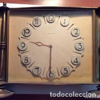 ANTIGUO RELOJ DE SOBREMESA JAEGER LE COULTRE ART DECO AÑO 40 100% ORIGINAL (Relojes - Sobremesa Carga Manual)