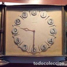 Relojes de carga manual: ANTIGUO RELOJ DE SOBREMESA JAEGER LE COULTRE ART DECO AÑO 40 100% ORIGINAL. Lote 165898018