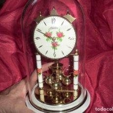 Relojes de carga manual: PRECIOSO RELOJ DE SOBREMESA CUBIERTO DE CAPSULA VINTAGE. Lote 169179112