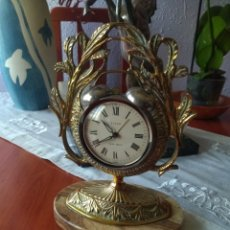 Relojes de carga manual: RELOJ DESPERTADOR TITAN TWIN BELL FUNCIONANDO. Lote 169327641