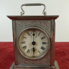 Relojes de carga manual: RELOJ DE CARRUAJE JUNGHANS. SIGLO XIX-XX. ALEMANIA. Lote 169622360