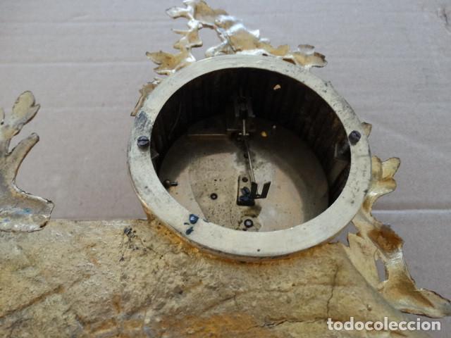 Relojes de carga manual: Antiguo reloj de cuerda pendulo frances - Foto 4 - 169834642