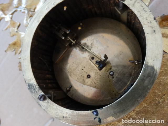 Relojes de carga manual: Antiguo reloj de cuerda pendulo frances - Foto 5 - 169834642