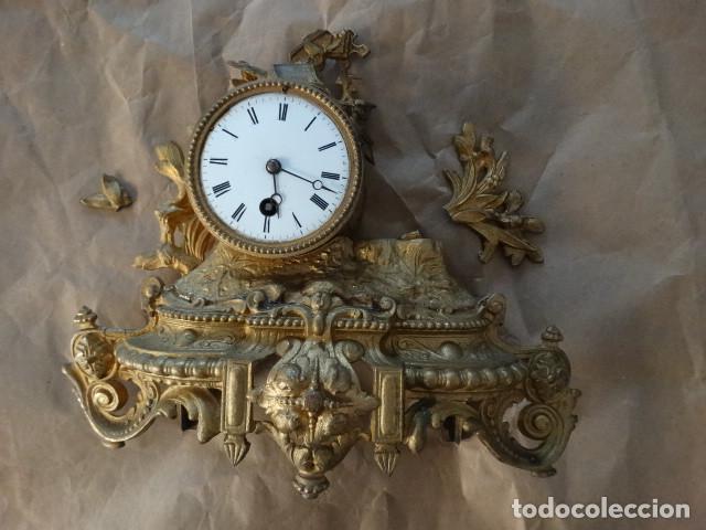 Relojes de carga manual: Antiguo reloj de cuerda pendulo frances - Foto 6 - 169834642