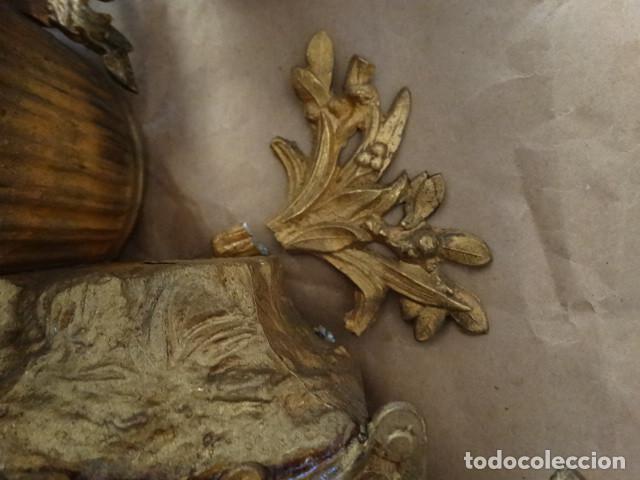 Relojes de carga manual: Antiguo reloj de cuerda pendulo frances - Foto 9 - 169834642