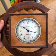 Relojes de carga manual: PRECIOSO RELOJ PUBLICITARIO BANCO VITALICIO DE ESPAÑA, AÑOS 40-50. Lote 170125257