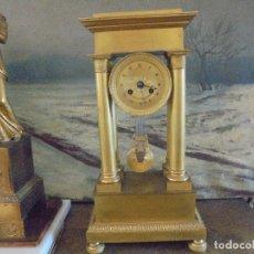 Relojes de carga manual: RELOJ PÓRTICO IMPERIO.. Lote 170341500