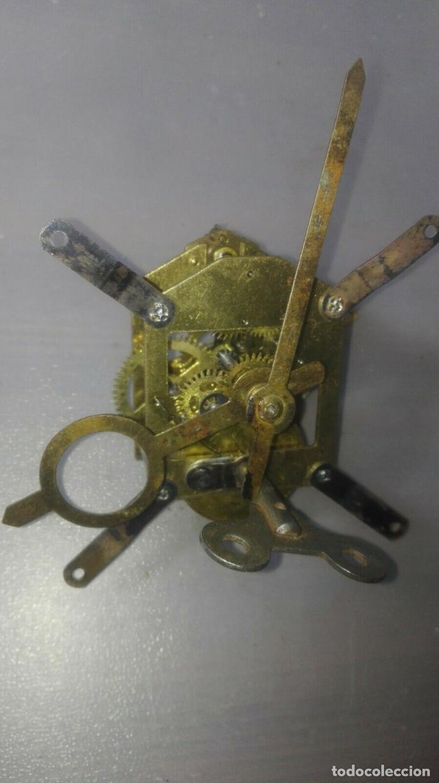 Relojes de carga manual: MECANISMO A CUERDA PARA ANTIGUO RELOJ DE SOBREMESA - Foto 2 - 170423332