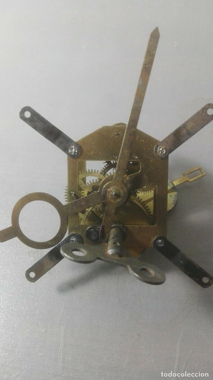 Relojes de carga manual: MECANISMO A CUERDA PARA ANTIGUO RELOJ DE SOBREMESA - Foto 4 - 170423332