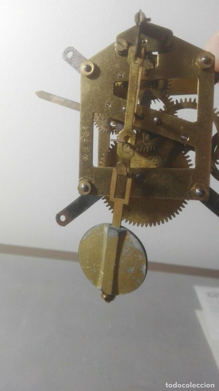Relojes de carga manual: MECANISMO A CUERDA PARA ANTIGUO RELOJ DE SOBREMESA - Foto 5 - 170423332