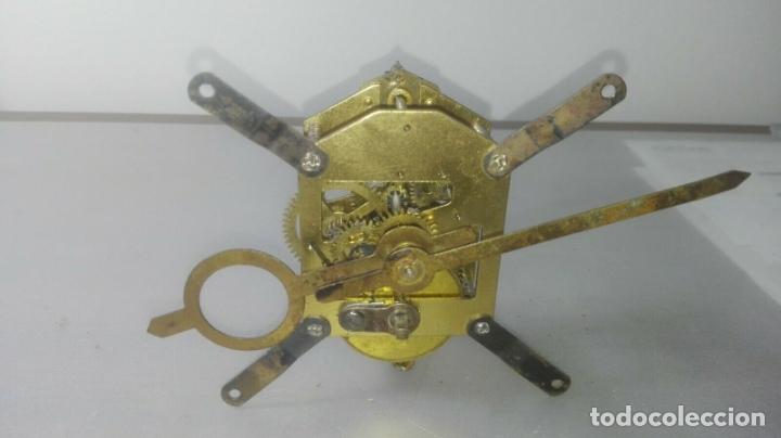 MECANISMO A CUERDA PARA ANTIGUO RELOJ DE SOBREMESA (Relojes - Sobremesa Carga Manual)