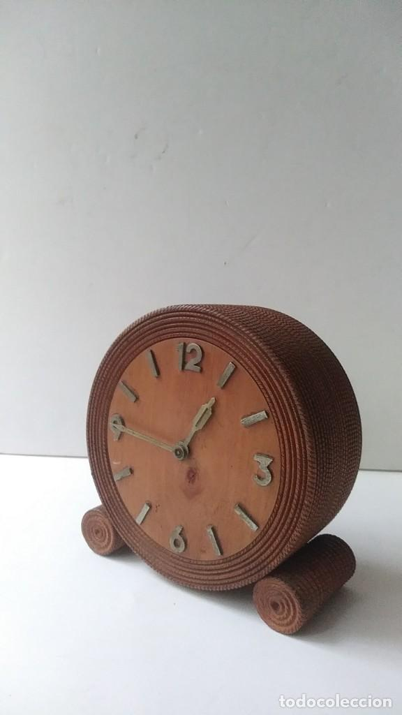 Relojes de carga manual: reloj madera sobremesa - Foto 4 - 170491972