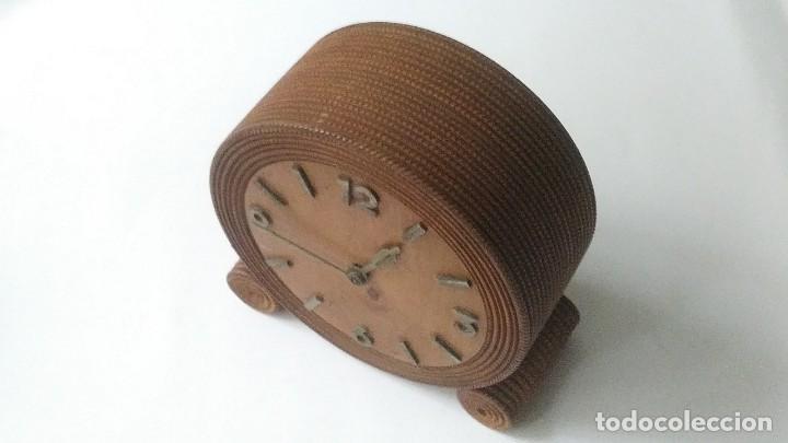 Relojes de carga manual: reloj madera sobremesa - Foto 5 - 170491972