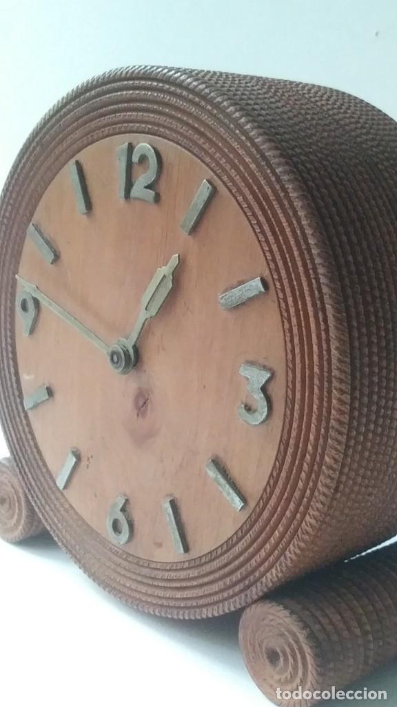 Relojes de carga manual: reloj madera sobremesa - Foto 11 - 170491972