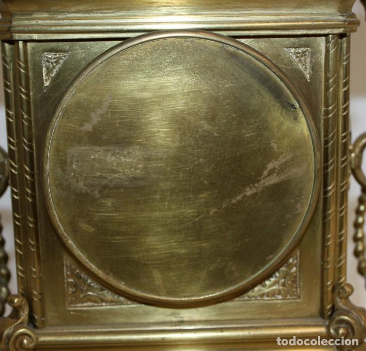 Relojes de carga manual: RELOJ DE SOBREMESA DEL SIGLO XIX EN BRONCE - Foto 9 - 171013780