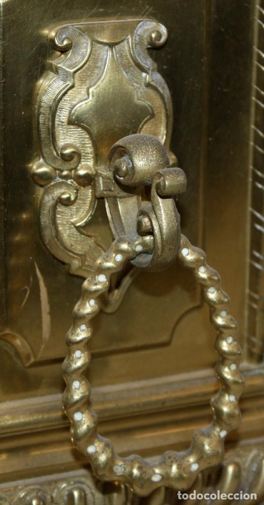 Relojes de carga manual: RELOJ DE SOBREMESA DEL SIGLO XIX EN BRONCE - Foto 16 - 171013780