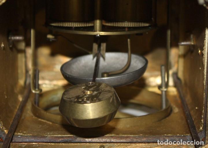 Relojes de carga manual: RELOJ DE SOBREMESA DEL SIGLO XIX EN BRONCE - Foto 18 - 171013780