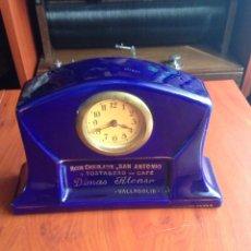 Relojes de carga manual: RELOJ RICOS CHOCOLATES SAN ANTONIO DIMAS ALONSO. Lote 171128305