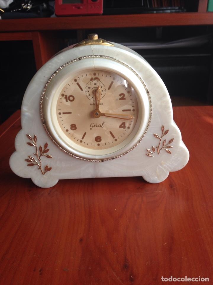 RELOJ GIRAL FUNCIONANDO (Relojes - Sobremesa Carga Manual)