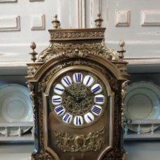 Relojes de carga manual: RELOJ RELIGIOSO, MARQUETERIA BOULLE, 1830,FUNCIONANDO. Lote 171130937