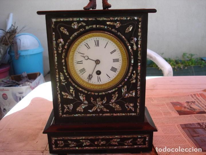 Relojes de carga manual: precioso reloj epoca napoleon III ver fotos yn descripcion - Foto 2 - 171131179