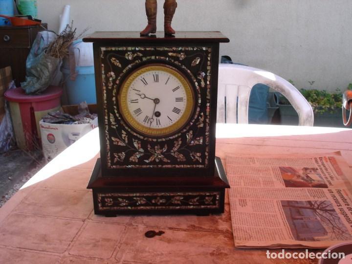 Relojes de carga manual: precioso reloj epoca napoleon III ver fotos yn descripcion - Foto 3 - 171131179