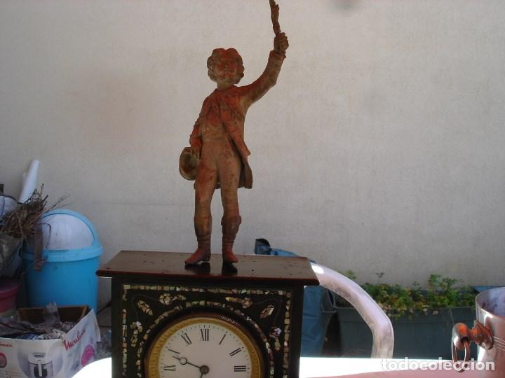 Relojes de carga manual: precioso reloj epoca napoleon III ver fotos yn descripcion - Foto 13 - 171131179