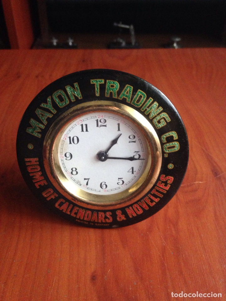 RELOJ MATÓN TRADING (Relojes - Sobremesa Carga Manual)