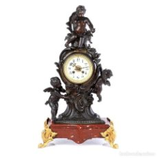 Relojes de carga manual: ANTIGUO RELOJ DE PÉNDULO DE SOBREMESA FRANCÉS. FRANCIA, CIRCA 1880. Lote 171479098