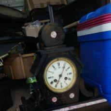 Relojes de carga manual: ESPECTACULAR RELOJ FRANCÉS SIGLO XIX MÁRMOL. Lote 171636057