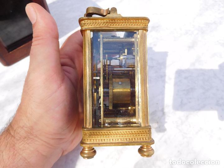 Relojes de carga manual: Reloj despertador antiguo de José Barrera en Barcelona 1880 aprox. - Foto 13 - 171977063