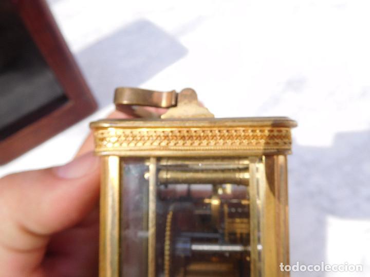 Relojes de carga manual: Reloj despertador antiguo de José Barrera en Barcelona 1880 aprox. - Foto 16 - 171977063