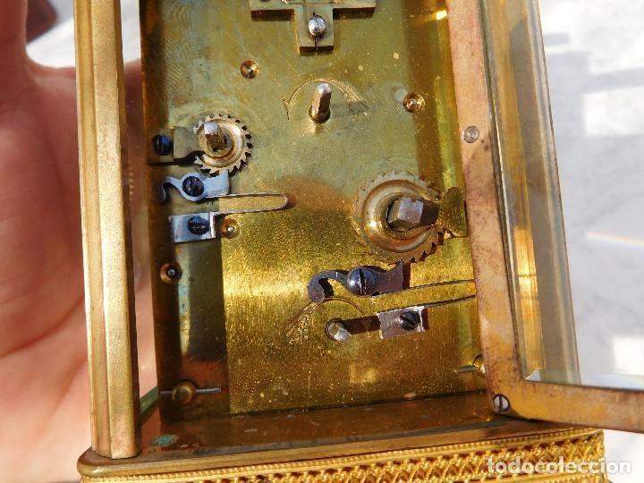 Relojes de carga manual: Reloj despertador antiguo de José Barrera en Barcelona 1880 aprox. - Foto 21 - 171977063