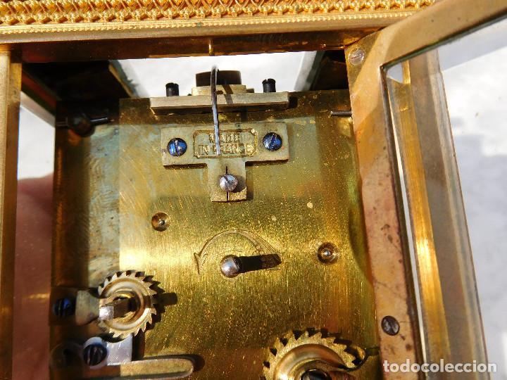 Relojes de carga manual: Reloj despertador antiguo de José Barrera en Barcelona 1880 aprox. - Foto 22 - 171977063