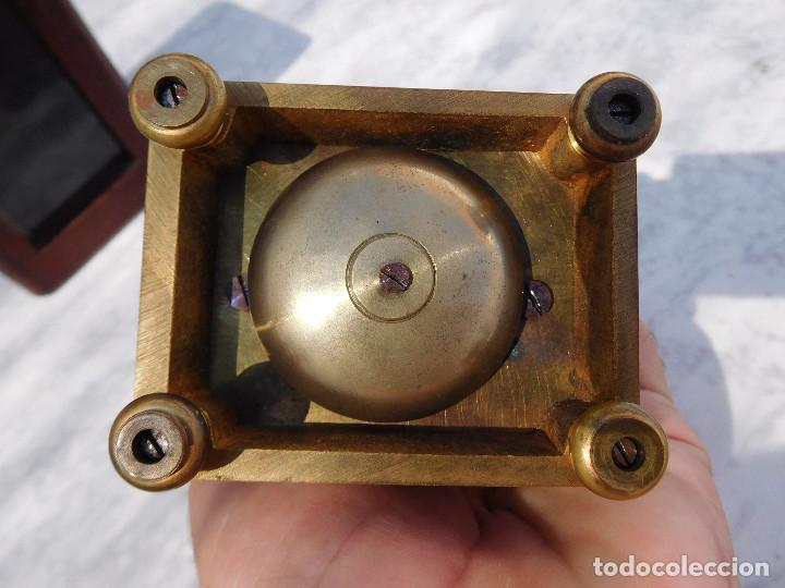 Relojes de carga manual: Reloj despertador antiguo de José Barrera en Barcelona 1880 aprox. - Foto 29 - 171977063