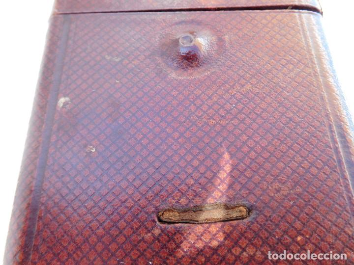 Relojes de carga manual: Reloj despertador antiguo de José Barrera en Barcelona 1880 aprox. - Foto 38 - 171977063
