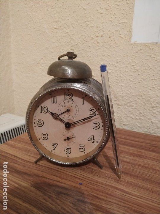 RELOJ DESPERTADOR (Relojes - Sobremesa Carga Manual)