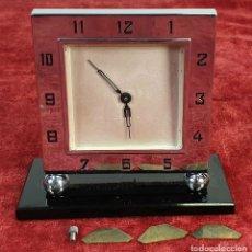Relojes de carga manual: RELOJ DE SOBREMESA. MAQUINARIA PARÍS 8 DIAS. PARA RESTAURAR O PIEZAS. CIRCA 1950.. Lote 172465715
