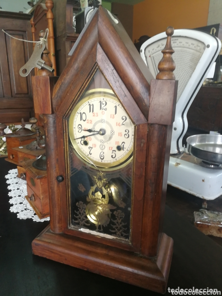 RELOJ DE MESA (Relojes - Sobremesa Carga Manual)