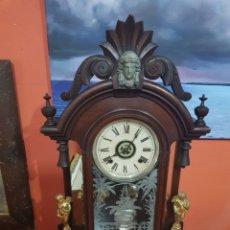 Relojes de carga manual: RELOJ ANSONIA USA 1882. Lote 173026528