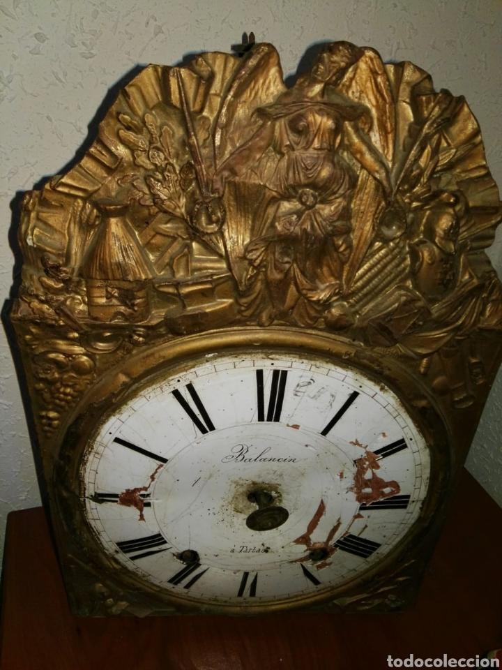 Relojes de carga manual: Reloj antiguo balancin a,tartas despiece - Foto 2 - 173106849