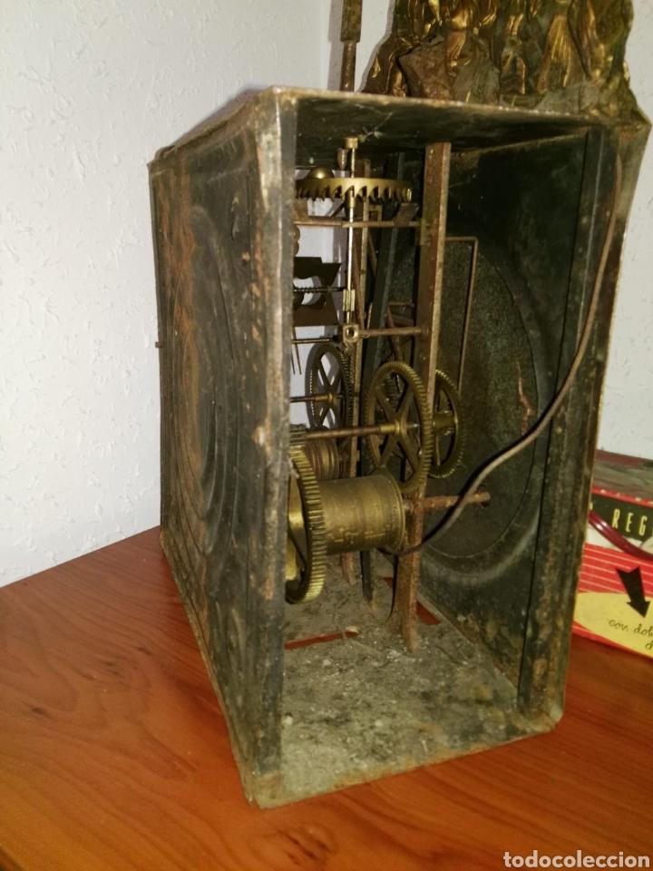 Relojes de carga manual: Reloj antiguo balancin a,tartas despiece - Foto 4 - 173106849