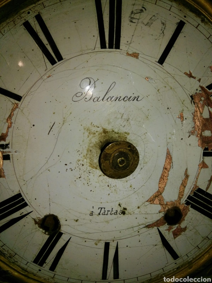 Relojes de carga manual: Reloj antiguo balancin a,tartas despiece - Foto 5 - 173106849