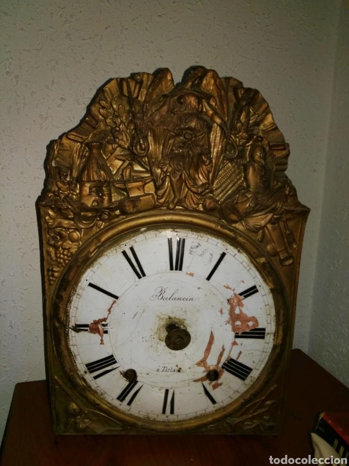 RELOJ ANTIGUO BALANCIN A,TARTAS DESPIECE (Relojes - Sobremesa Carga Manual)