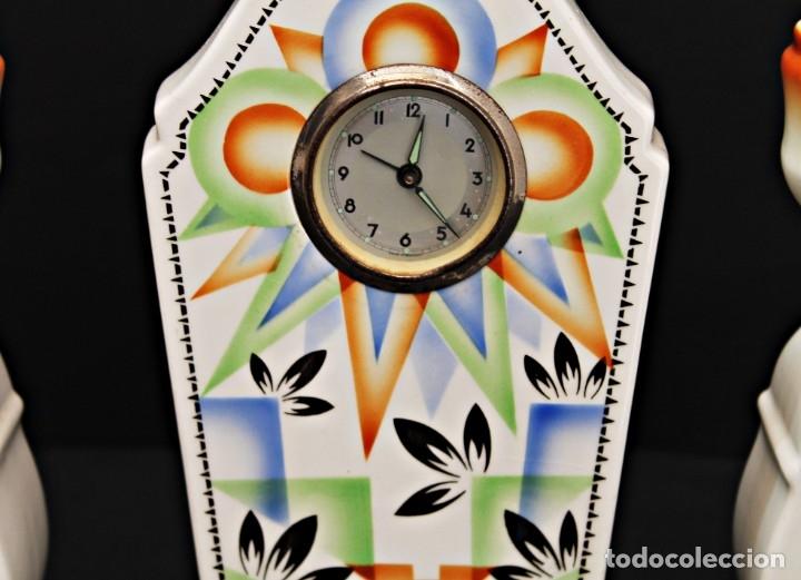 Relojes de carga manual: RELOJ ART DECO CON GUARNICIÓN FUNCIOANANDO - Foto 2 - 173381148