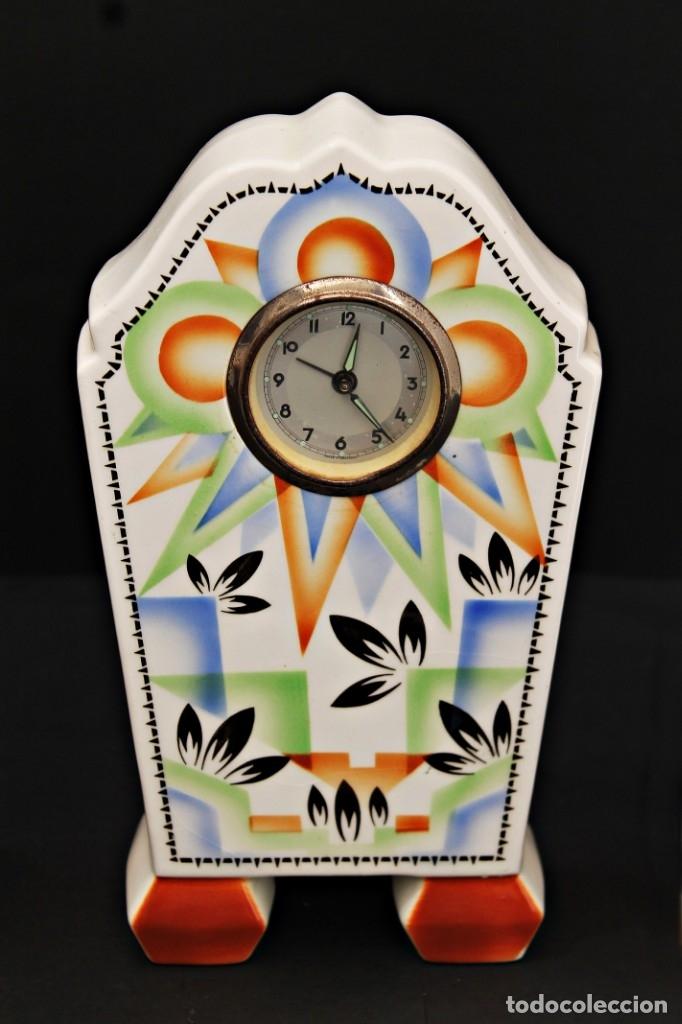 Relojes de carga manual: RELOJ ART DECO CON GUARNICIÓN FUNCIOANANDO - Foto 4 - 173381148