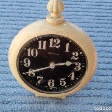 Relojes de carga manual: RELOJ DE MESA ALEMÁN VINTAGE ( BLESSING, WEST GERMANY) FUNCIONANDO. . Lote 173641043