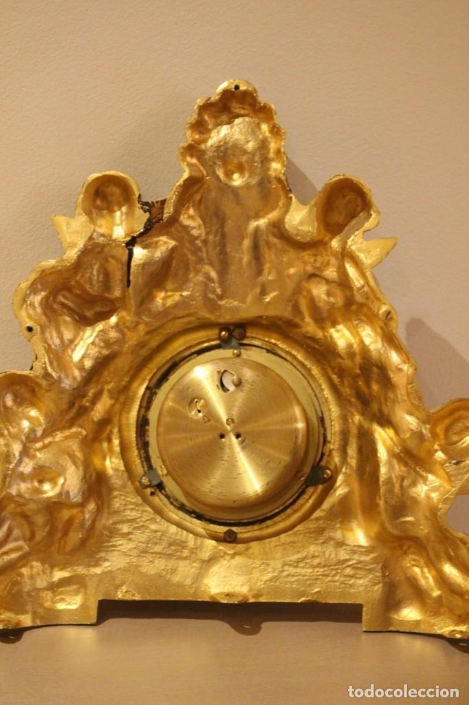 Relojes de carga manual: ANTIGUO RELOJ DE BRONCE CARGA MANUAL FUNCIONAONANDO !!! AÑOS 45-50 - Foto 5 - 173681408