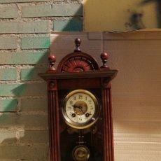 Relojes de carga manual: ESPECTACULAR RELOJ ALFONSIN DE SOBREMESA SIGLO XIX. Lote 173863329