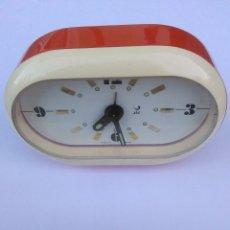 Relojes de carga manual: RELOJ DESPERTADOR JAZ MADE IN FRANCE FUNCIONANDO BIEN VINTAGE. Lote 173946170